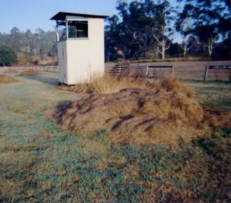 Steward's box, Kooralbyn equestrian events.