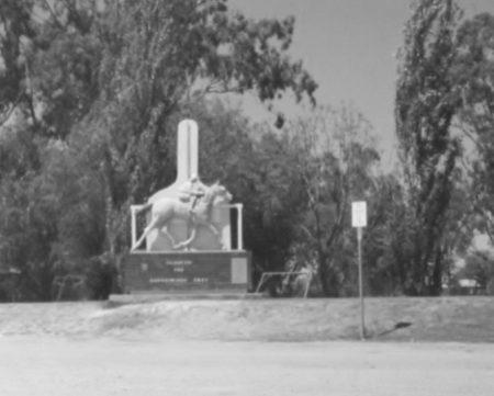 Gunsynd monument, Goondiwindi.