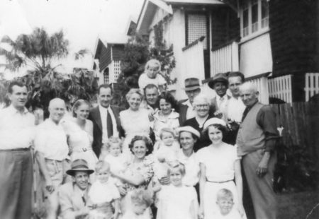 The Clan. Front Yard abt. 1955