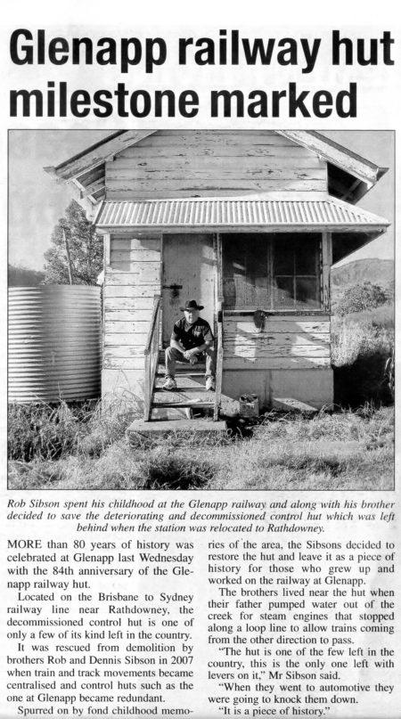 Signal Hut.