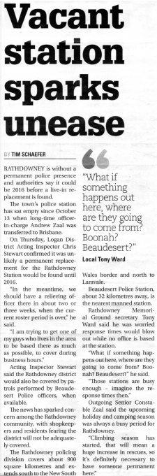 Police shut BT 28/10/2015.