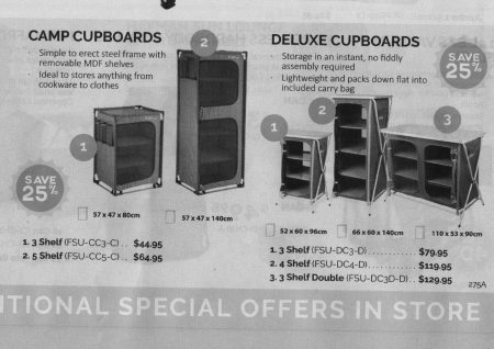 Camp Cupboards (Catalogue)